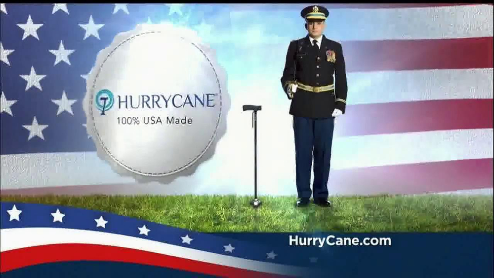 The HurryCane TV Commercial, 'America-Strong'