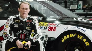 Goodyear TV Spot, 'Tire Talk: The Force of 3Gs' Featuring Kevin Harvick