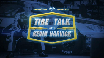 Goodyear TV Spot, 'Tire Talk: The Force of 3Gs' Featuring Kevin Harvick - Thumbnail 1