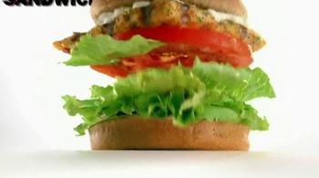Carl's Jr. Charbroiled Atlantic Cod Fish Sandwich TV Spot Ft. Nina Agdal - Thumbnail 9