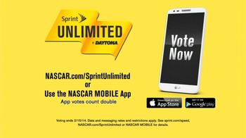Sprint Unlimited TV Spot Featuring Jeff Gordon, Jimmie Johnson - Thumbnail 9