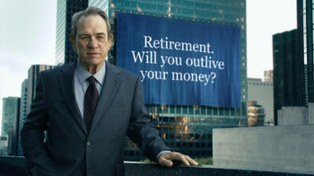 Ameriprise Financial TV Spot, \'Outlive\' Featuring Tommy Lee Jones