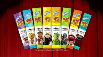 GoGurt Tubes TV Spot, \'Muppets Most Wanted\'