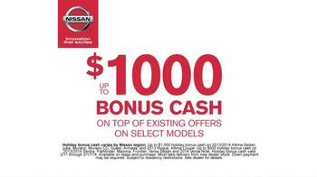 Nissan TV Spot, '2014 5 New Nissans' - Thumbnail 4