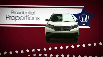 The Honda Presidents' Day Sales Event TV Spot, 'Commanding Offers' - Thumbnail 9