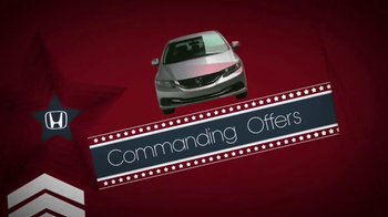 The Honda Presidents' Day Sales Event TV Spot, 'Commanding Offers' - Thumbnail 2