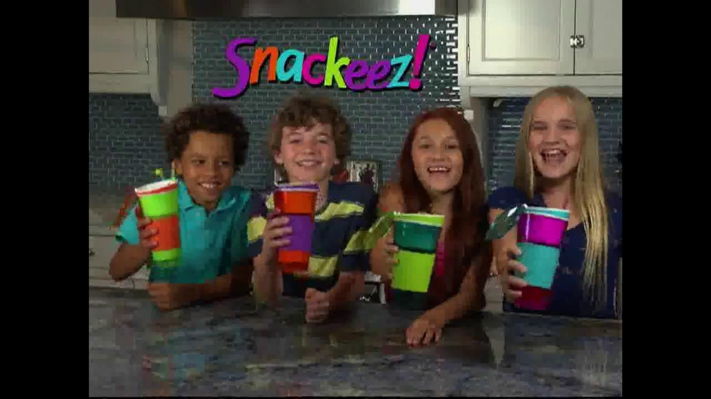 Snackeez TV Commercial, 'Snacking Solution'