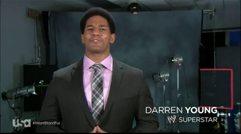 USA Network TV Spot, 'I Won't Stand For' Feauting Darren Young - Thumbnail 1