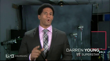 USA Network TV Spot, 'I Won't Stand For' Feauting Darren Young - Thumbnail 2