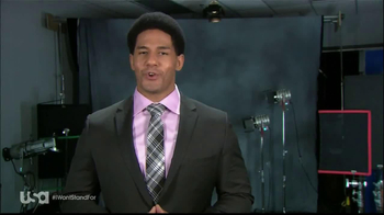 USA Network TV Spot, 'I Won't Stand For' Feauting Darren Young - Thumbnail 3