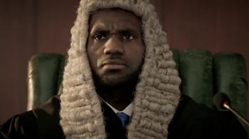 Powerade TV Spot, 'Judge James' Featuring LeBron James - Thumbnail 2