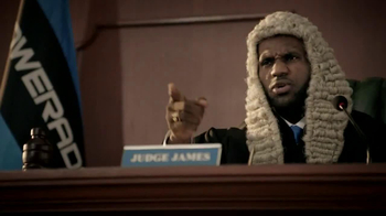 Powerade TV Spot, 'Judge James' Featuring LeBron James - Thumbnail 3