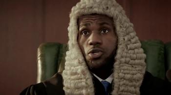 Powerade TV Spot, 'Judge James' Featuring LeBron James - Thumbnail 6