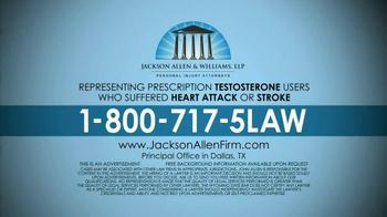 Jackson Allen and Williams TV Spot, 'Testosterone' - Thumbnail 10