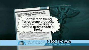 Jackson Allen and Williams TV Spot, 'Testosterone' - Thumbnail 6