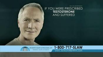Jackson Allen and Williams TV Spot, 'Testosterone' - Thumbnail 7