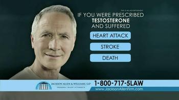 Jackson Allen and Williams TV Spot, 'Testosterone' - Thumbnail 9