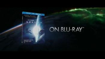 Gravity Blu-ray and DVD TV Spot - Thumbnail 1