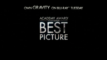 Gravity Blu-ray and DVD TV Spot - Thumbnail 10