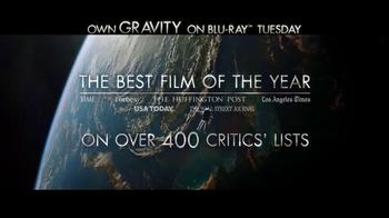 Gravity Blu-ray and DVD TV Spot - Thumbnail 4