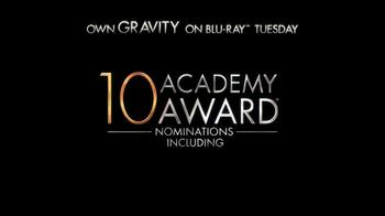 Gravity Blu-ray and DVD TV Spot - Thumbnail 7