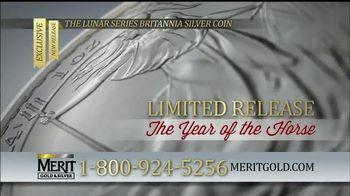 Merit Gold & Silver TV Spot, 'The Lunar Series Britannia Silver Coin'