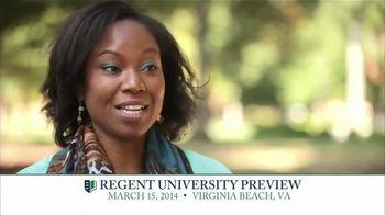 Regent University TV Spot, 'Preview'