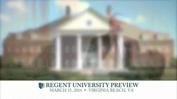 Regent University TV Spot, 'Preview' - Thumbnail 4