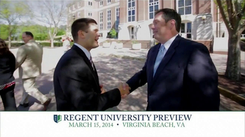 Regent University TV Spot, 'Preview' - Thumbnail 6