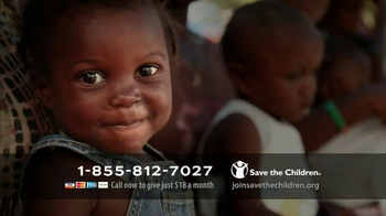 Save The Children TV Spot, \'Help Save Lives\'