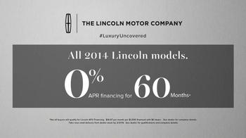 2014 Lincoln MKZ TV Spot, 'A Closer Look' - Thumbnail 9
