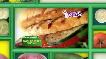 Subway TV Spot, 'Ofertas Especiales de Febrero' [Spanish] - Thumbnail 3