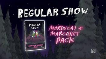 Regular Show Mordecai + Margaret Pack DVD TV Spot