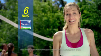 Claritin Non-Drowsy TV Spot, \'Volleyball\'