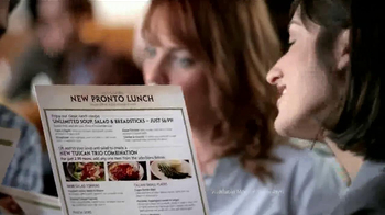 Olive Garden Pronto Lunch TV Spot, 'New Menu' - Thumbnail 3