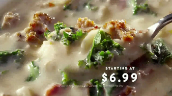 Olive Garden Pronto Lunch TV Spot, 'New Menu' - Thumbnail 6