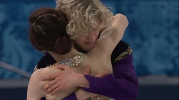 VISA TV Spot, 'Ice Skaters' Featuring Meryl Davis and Charlie White - 7 commercial airings