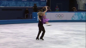 VISA TV Spot, 'Ice Skaters' Featuring Meryl Davis and Charlie White - Thumbnail 7