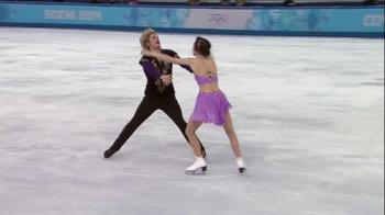 VISA TV Spot, 'Ice Skaters' Featuring Meryl Davis and Charlie White - Thumbnail 8