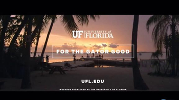 University of Florida TV Spot, 'For the Gator Good'
