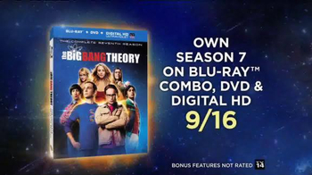 The Big Bang Theory Season 7 on Blu-ray Combo, DVD & Digital HD TV Spot - Thumbnail 7