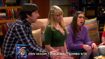 The Big Bang Theory Season 7 on Blu-ray Combo, DVD & Digital HD TV Spot - Thumbnail 2