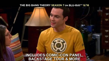 The Big Bang Theory Season 7 on Blu-ray Combo, DVD & Digital HD TV Spot - Thumbnail 3
