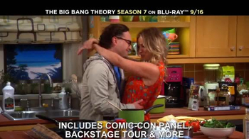 The Big Bang Theory Season 7 on Blu-ray Combo, DVD & Digital HD TV Spot - Thumbnail 4