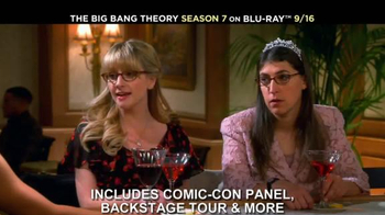 The Big Bang Theory Season 7 on Blu-ray Combo, DVD & Digital HD TV Spot - Thumbnail 5