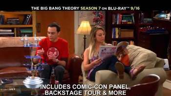 The Big Bang Theory Season 7 on Blu-ray Combo, DVD & Digital HD TV Spot - Thumbnail 6