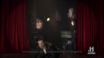 Capital One Quicksilver TV Spot, 'Houdini' - Thumbnail 4