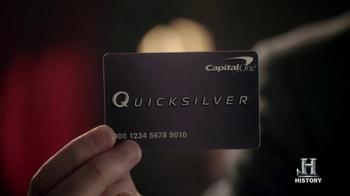 Capital One Quicksilver TV Spot, 'Houdini' - Thumbnail 6