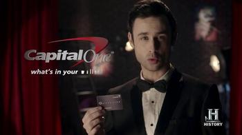 Capital One Quicksilver TV Spot, 'Houdini' - Thumbnail 7