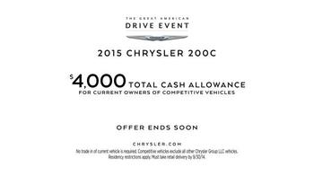 2015 Chrysler 200C TV Spot, 'All New' - Thumbnail 6